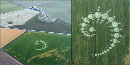 Julia Set Crop Circle