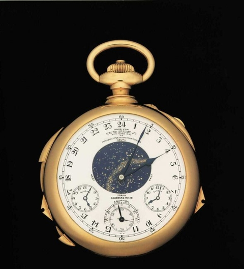 Henry Graves Supercomplication - Reverse