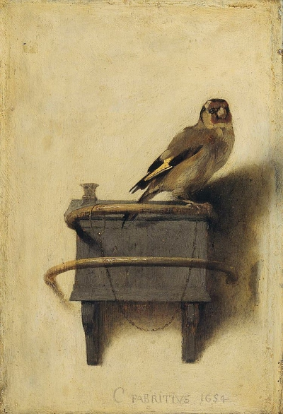 The Goldfinch (Fabritius, 1654)