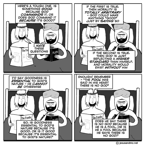 Jesus and Mo - Euthyphro